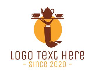 Butler - Tea Tray  logo design