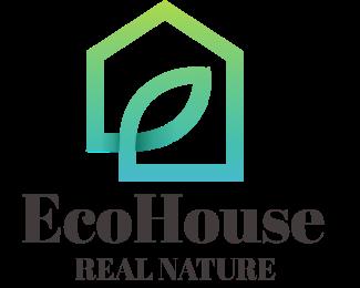 Architect - Eco House logo design