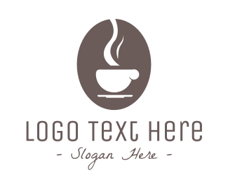 Mocha - Brown Coffee logo design