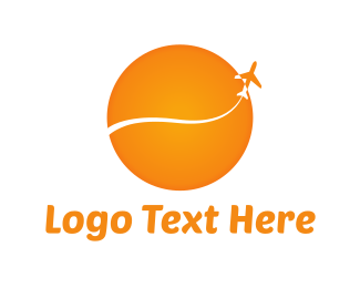 Flight - Sunny Flight  logo design