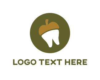 Acorn -  Acorn Tooth logo design