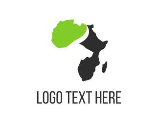 Buffalo & Africa Logo