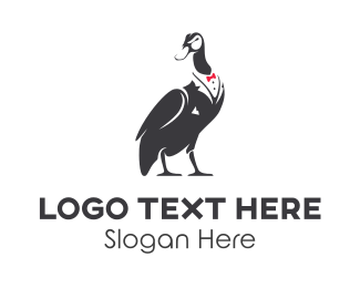 Restaurant - Fashion Duck logo design
