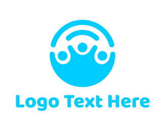 Baby Blue - Help People logo design