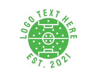 Football - Soccer Tactics logo design