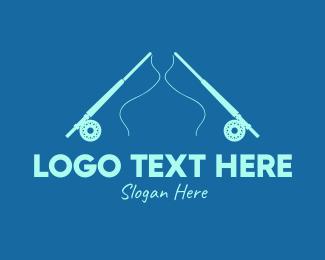 Sailor - Blue Fishing Rod logo design