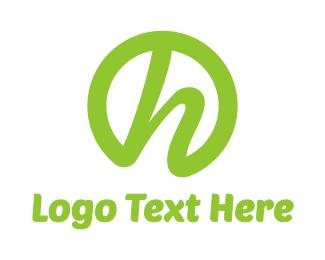 Stroke - Circle H Stroke logo design