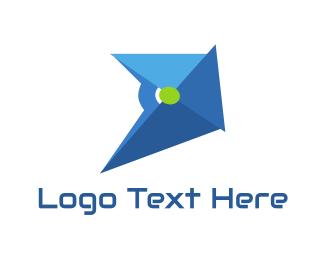 Helmet - Blue Helmet logo design