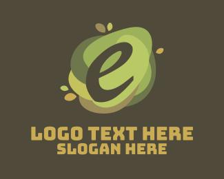 Natural - Natural Letter E logo design