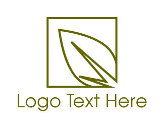 Salad - Green Leaf logo design