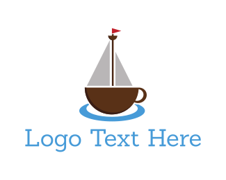Mug - Coffee Ship logo design