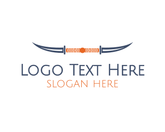 Horns - Knife Horns logo design