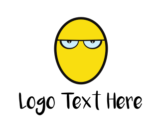 Angry - Angry Egg logo design