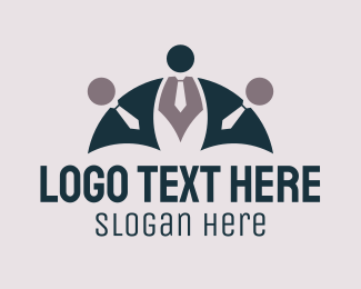 Human Resources - Business Team logo design