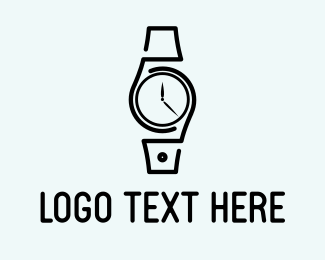 Minimalist Watch Logo