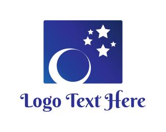 Moonlight - Starry Sky logo design