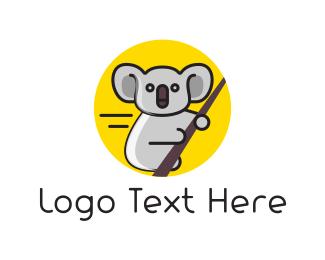 Outback - Eucalyptus & Koala logo design