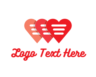 Blogging - Love Note logo design