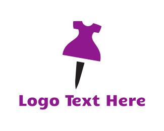 """Dress Pin"" by Logobrary"