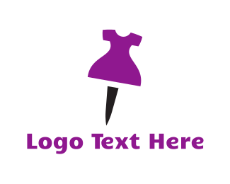 Dress - Dress Pin logo design