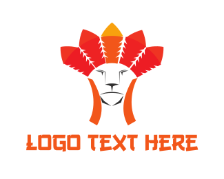 Feline - Tribal Feline logo design