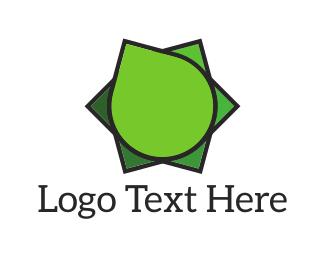 Cactus - Green Succulent  logo design
