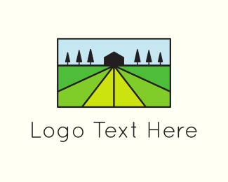 Ranch - Green Agriculture logo design