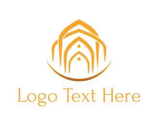 Arabic - Arab Doors logo design