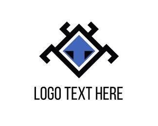 Web Design - Robotic Bug logo design