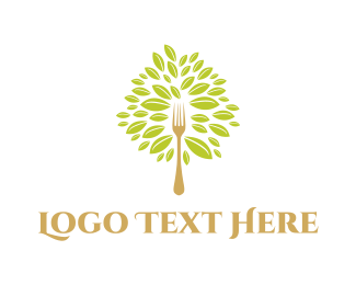 Chef - Fork Tree logo design
