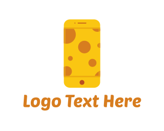 Phone Repair - Cheese Phone logo design