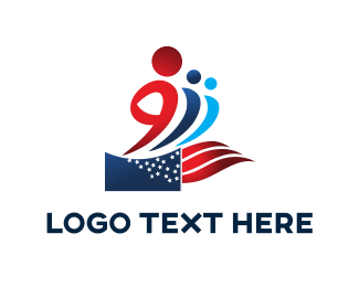 Campaign - Patriotic People logo design