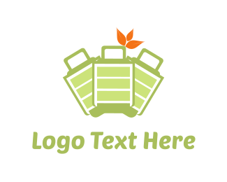 Handbag - Green Bags logo design