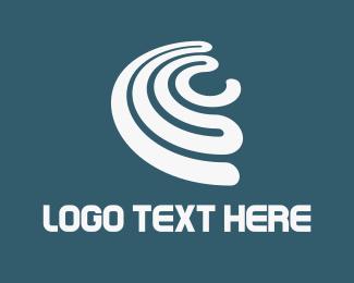 Spin - White Spin logo design