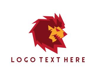 Mane - Electric Lion logo design