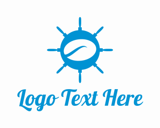 Nautical - Nautical Coffee Bean logo design