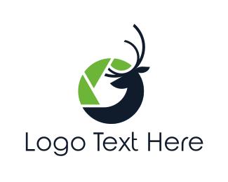 Moose - Wildlife Photography logo design
