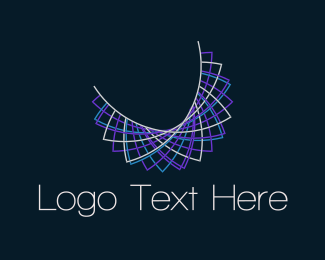 Collar - Purple Necklace logo design