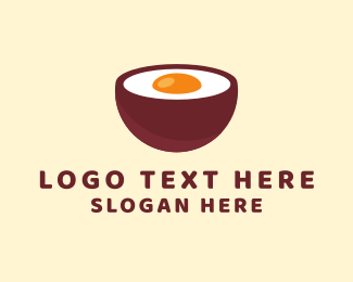 Soup - Egg Bowl logo design