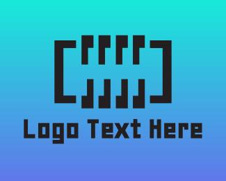 Battery - Digital Abstract Spring logo design
