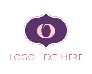 India - Arab Letter O logo design