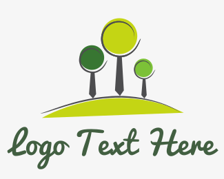 Recycling - Tie Forest logo design