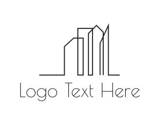 Urban - City Outline logo design