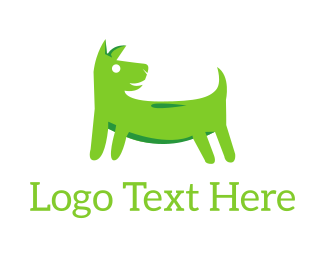 Toy - Green Dog logo design