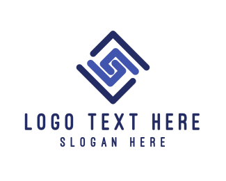 Spiral - Spiral Diamond logo design