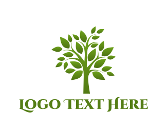 Hospice - Green Tree logo design
