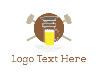 Anvil - Anvil & Beer logo design