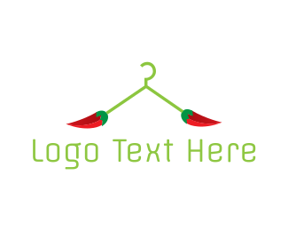 Mexican - Chili Hanger logo design