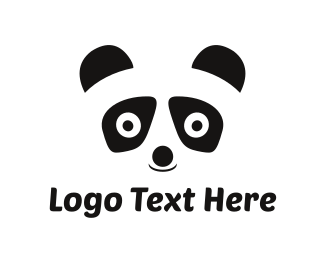 Easy - Panda Face logo design