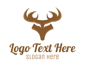 Wilderness - Strong Deer logo design